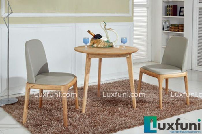 Tìm hiểu ý nghĩa các mẫu bàn ăn tròn bằng gỗ-1