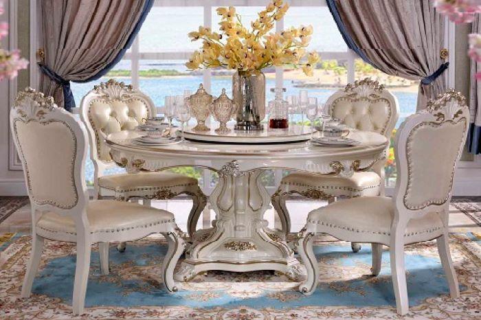Tìm hiểu ý nghĩa các mẫu bàn ăn tròn bằng gỗ-2