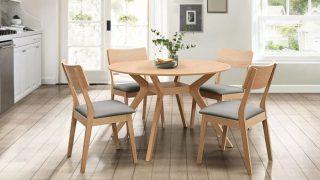 Tìm hiểu ý nghĩa các mẫu bàn ăn tròn bằng gỗ