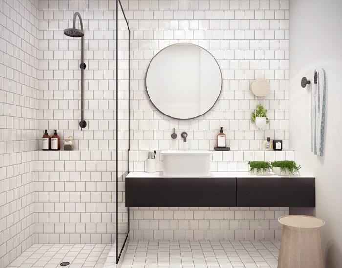 Top 10 mẫu gương treo tường nhà tắm hợp thời - giá siêu tốt-1
