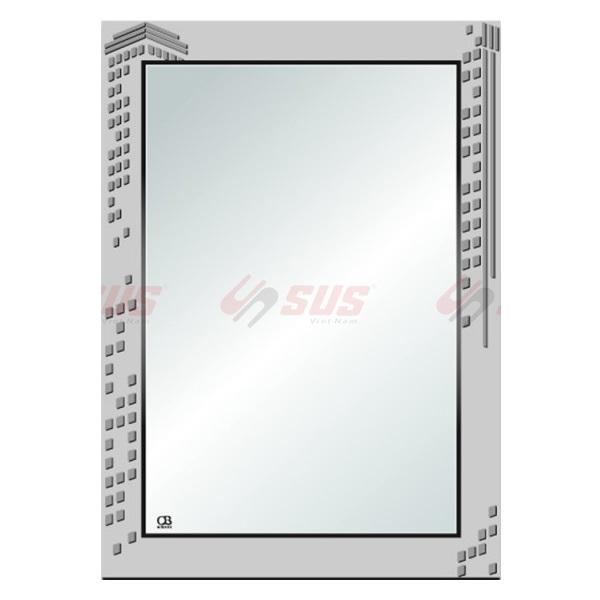 Gương trơn bạc ròng QB Q601 tối giản, hiện đại-9