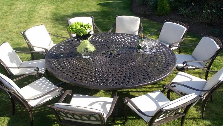 Tròn mắt với những mẫu bàn ăn đẹp 10 ghế siêu sang chảnh-8