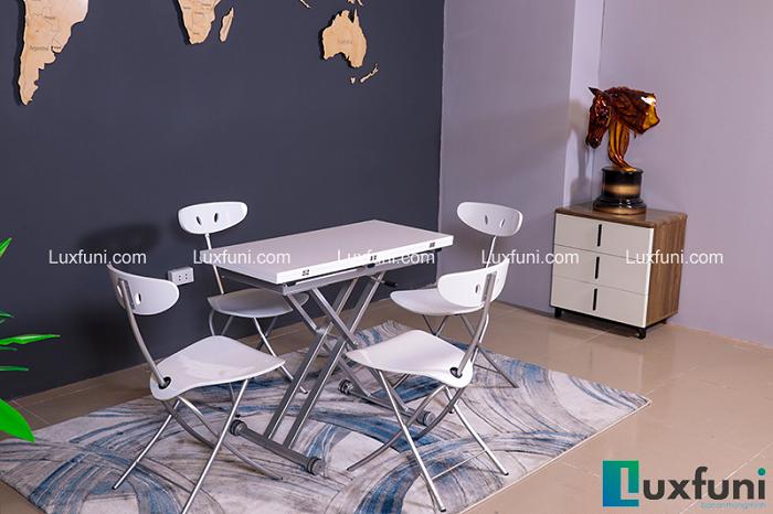 5 mẫu bàn ghế ăn đẹp cho căn bếp nhỏ hẹp-4