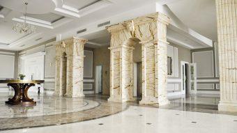 Báo giá đá marble ốp cột đẹp nhất hiện nay