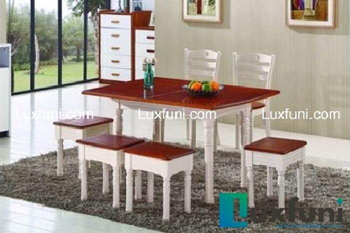 Địa điểm mua bàn ăn gỗ đẹp hiện đại chất lượng nhất hiện nay-3