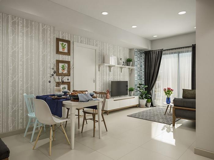 Mẹo hay giúp bố trí nội thất phòng khách nhỏ hẹp trở nên rộng rãi-1