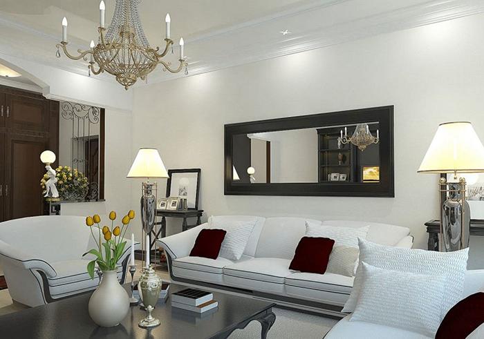 Mẹo hay giúp bố trí nội thất phòng khách nhỏ hẹp trở nên rộng rãi-3