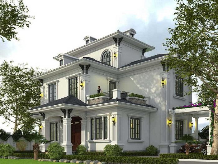 Cùng chiêm ngưỡng những biệt thự 3 tầng mái Thái tuyệt đẹp-1