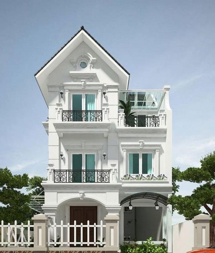 Cùng chiêm ngưỡng những biệt thự 3 tầng mái Thái tuyệt đẹp-2