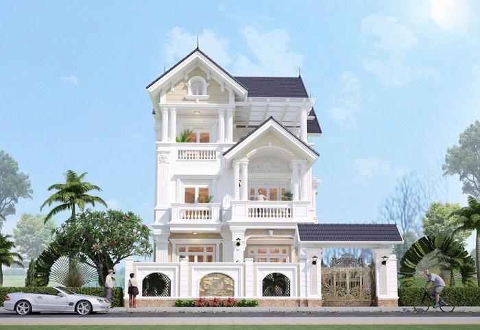 Cùng chiêm ngưỡng những biệt thự 3 tầng mái Thái tuyệt đẹp-3