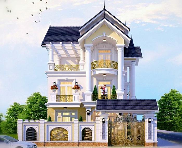Cùng chiêm ngưỡng những biệt thự 3 tầng mái Thái tuyệt đẹp-4