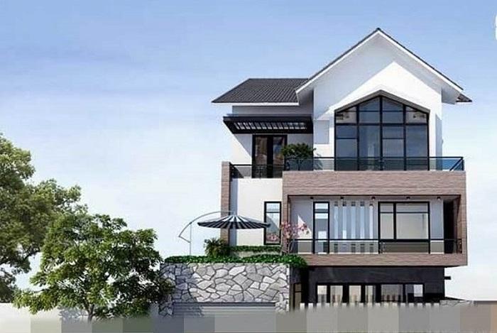 Cùng chiêm ngưỡng những biệt thự 3 tầng mái Thái tuyệt đẹp-5