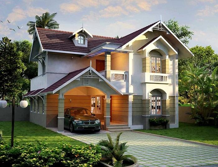 Những mẫu biệt thự hai tầng mái Thái mang phong cách hiện đại-10