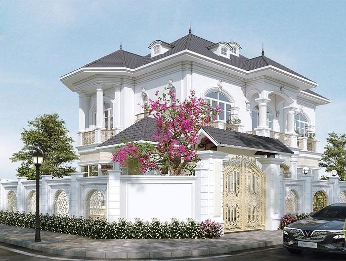 Những mẫu biệt thự hai tầng mái Thái mang phong cách hiện đại-2