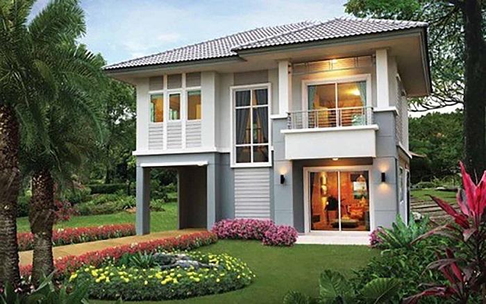 Những mẫu biệt thự hai tầng mái Thái mang phong cách hiện đại-3