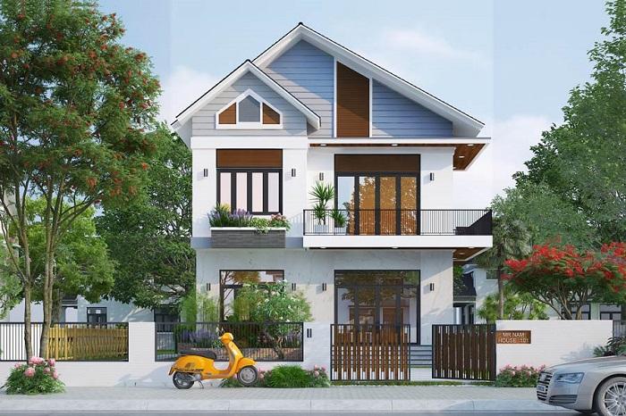 Những mẫu biệt thự hai tầng mái Thái mang phong cách hiện đại-7