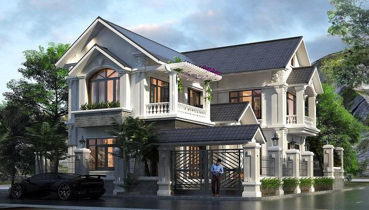 Những mẫu biệt thự hai tầng mái Thái mang phong cách hiện đại-8