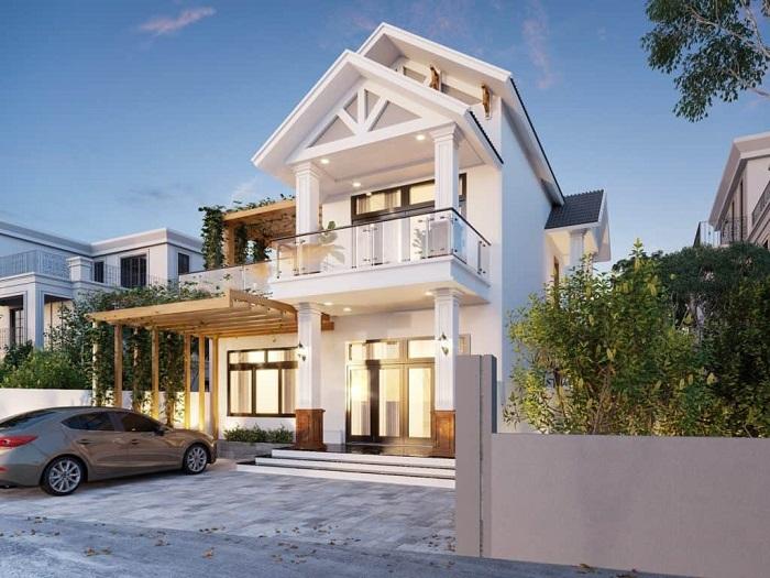 Những mẫu biệt thự hai tầng mái Thái mang phong cách hiện đại-9