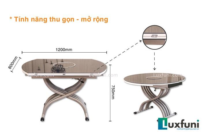 Biến hóa căn bếp với những mẫu bàn ăn đẹp đa chất liệu-17