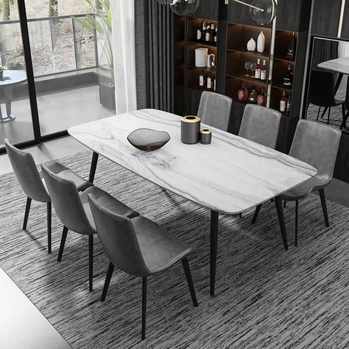 Biến hóa căn bếp với những mẫu bàn ăn đẹp đa chất liệu-2