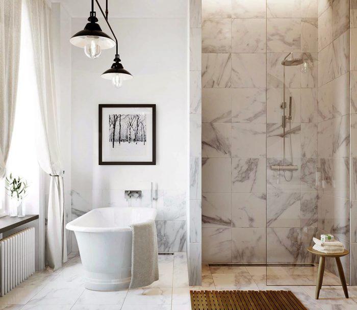 Đá Marble trắng Hy Lạp ốp tường cao cấp bền đẹp-11
