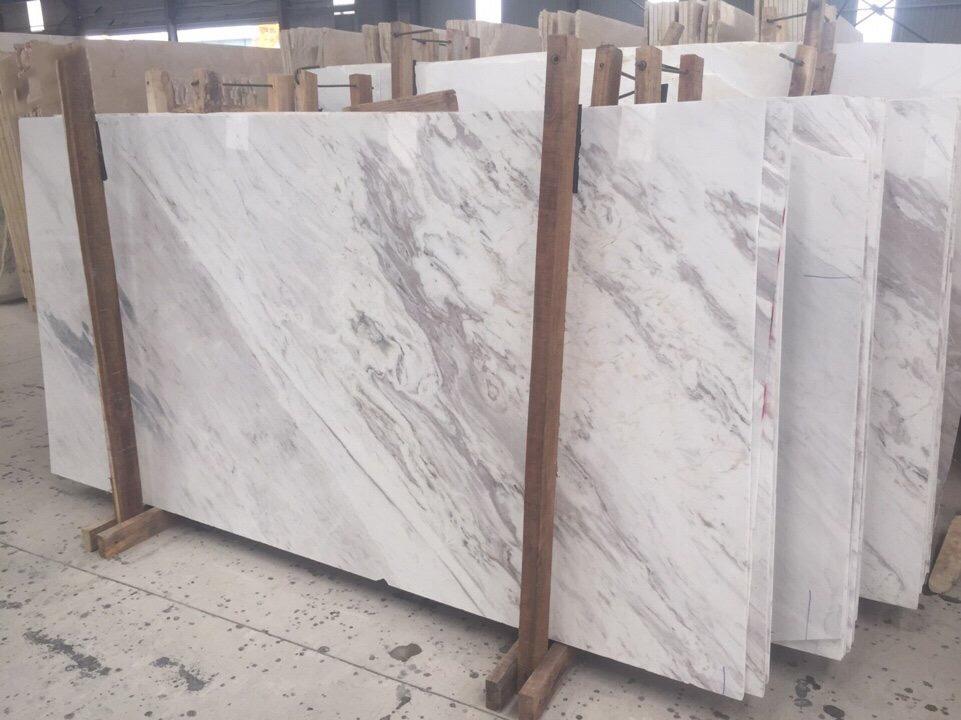 Đá Marble trắng Hy Lạp ốp tường cao cấp bền đẹp-1
