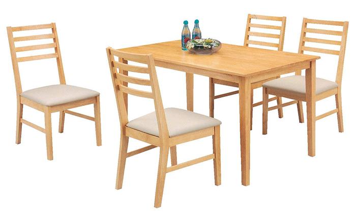 Nên chọn bàn ăn gỗ công nghiệp hay gỗ tự nhiên-1