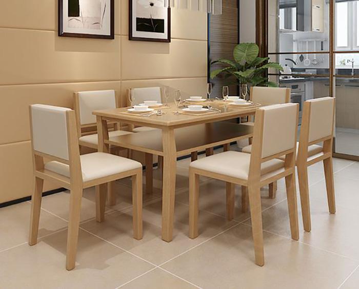 Nên chọn bàn ăn gỗ công nghiệp hay gỗ tự nhiên-11