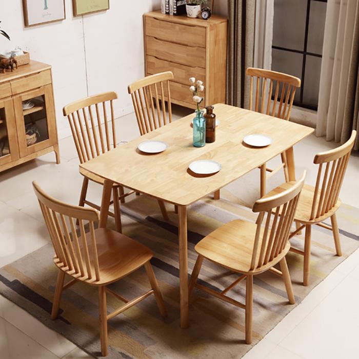 Nên chọn bàn ăn gỗ công nghiệp hay gỗ tự nhiên-9
