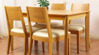 Những điều cần quan tâm khi mua bàn ăn gỗ cao su