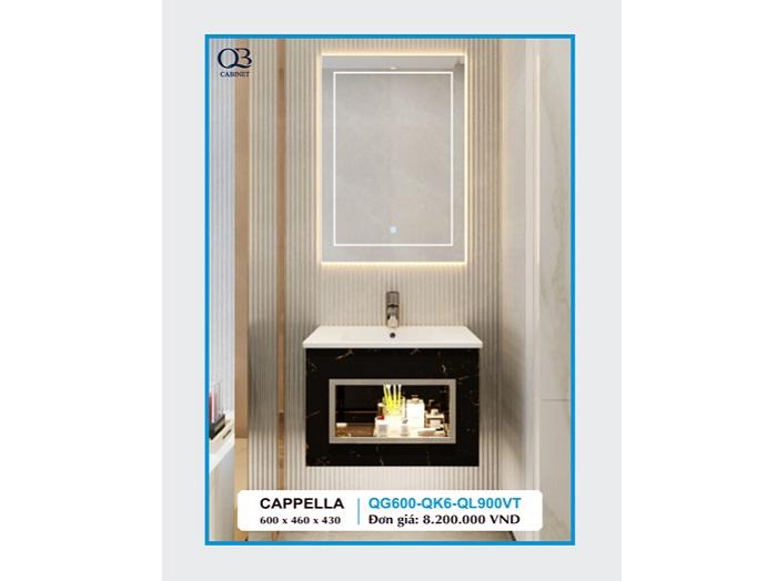 Tủ chậu lavabo cappella QG600-QK6-QL900VT