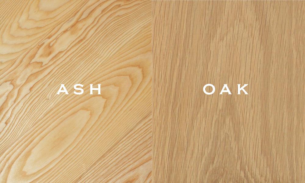 Phân biệt gỗ sồi với tần bì