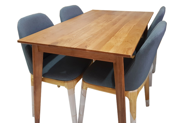 Bàn ăn gỗ sồi 4 ghế