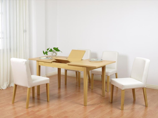 Bộ bàn gỗ sồi thông minh gấp gọn