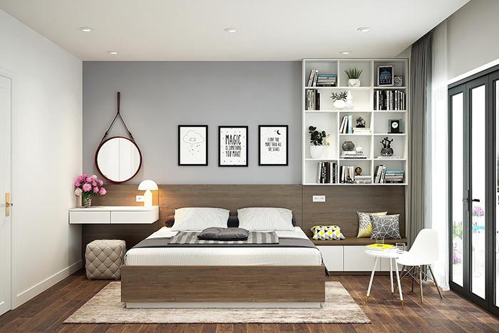 Kích thước phòng ngủ hợp lý