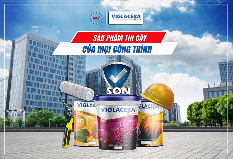 Sơn Viglacera là dòng sản phẩm sơn cao cấp của Việt Nam, được thừa hưởng các dây chuyền máy móc công nghệ hiện đại tiên tiến