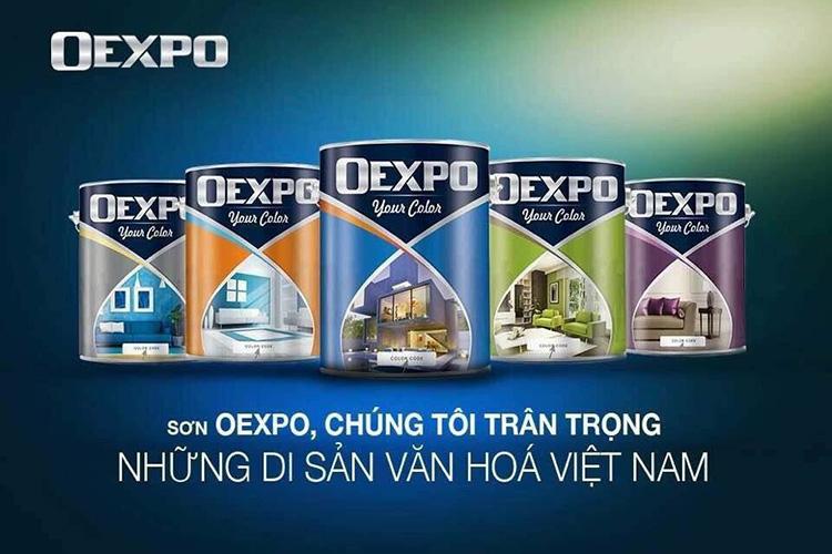 Sơn Oexpo vừa đẹp, hiện đại, đa dạng lại vừa có tính kinh tế với các ưu điểm