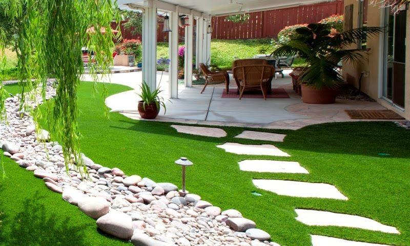 Một khu vườn đẹp luôn cần có màu xanh của cây cối. Hãy sử dụng cây xanh nhiều cho sân vườn nhà