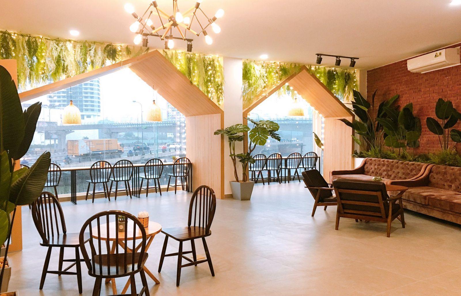 Nên bố trí chỗ ngồi rộng rãi cho quán của bạn