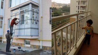 Nguyên nhân gây ra mất an toàn lan can chung cư, nhà cao tầng