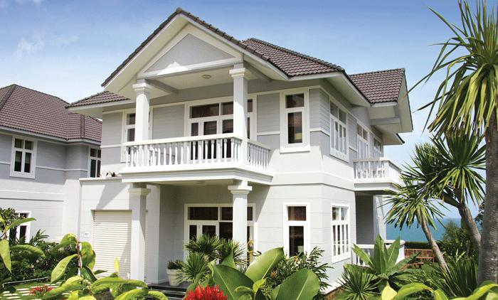 Sử dụng tông màu kem cho ngôi nhà của bạn
