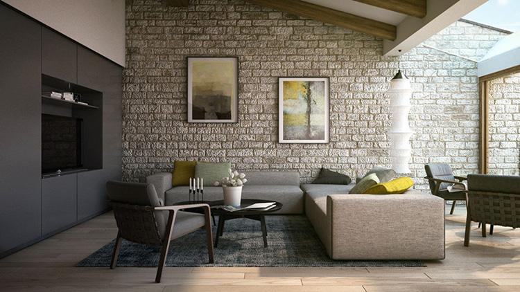 Ứng dụng đa dạng của đá ốp tường