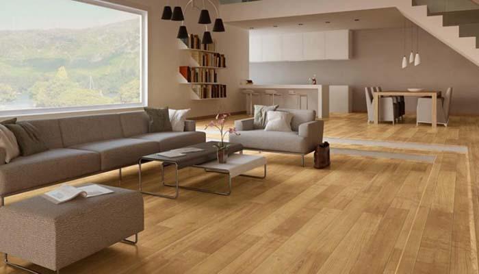 Gạch có những vân gỗ gần giống gỗ tự nhiên