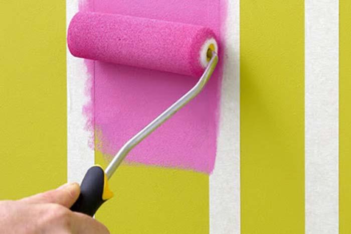 Hướng dẫn cách sơn lại tường cũ khi đã sơn phủ -3