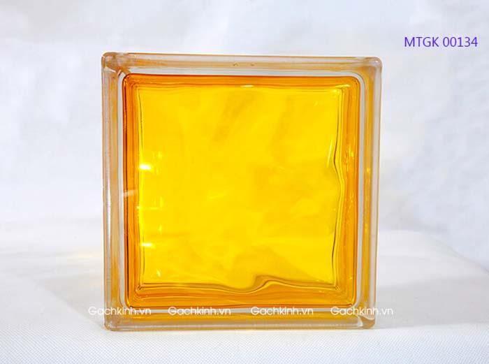 Gạch kính Indonesia màu vàng tươi MTGK 00134