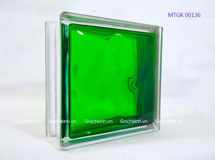Gạch kính Indonesia màu xanh lá MTGK 00136