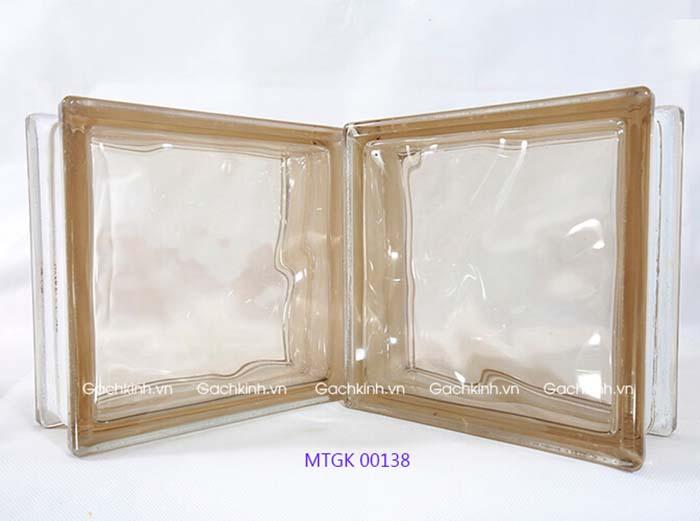 Gạch kính Indonesia vân mây nâu nhạt MTGK 00138