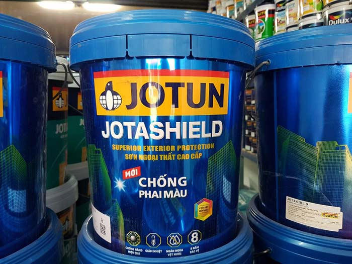 Sơn Ngoại Thất Jotun JotaShield sản phẩm cao cấp đang được tin dùng hiện nay