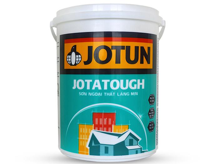 Sơn ngoài nhà kinh tế Jotatough độ che phủ tốt cũng như có thể chùi rửa dễ dàng mà không ảnh hưởng đến màng sơn