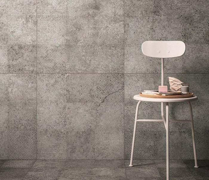 Nền tường bằng gạch xi măng